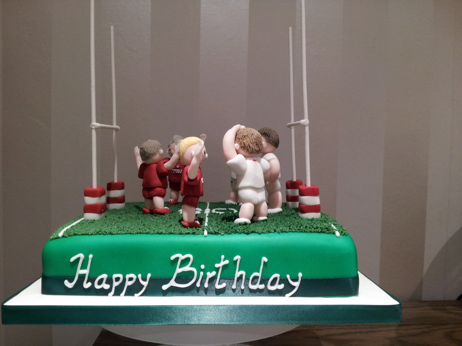 Rugby Birthday Cake Recipe