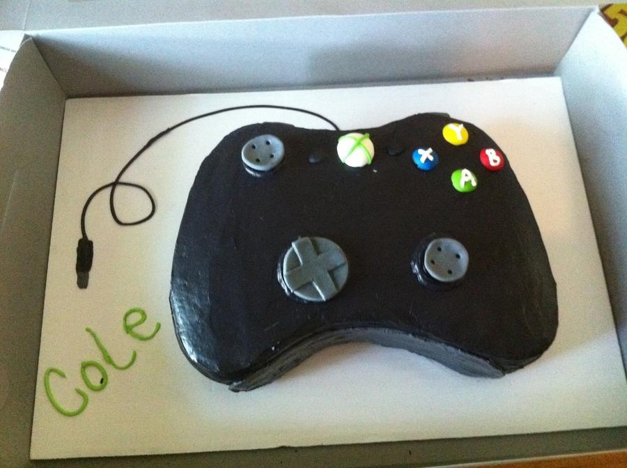 Xbox controller cake cakecentral