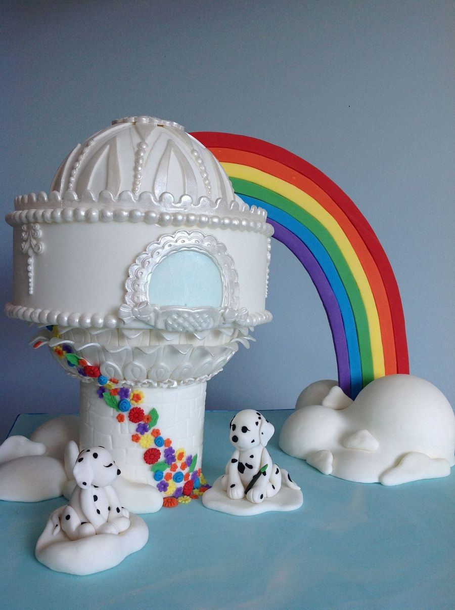 Playful Puppy Cake on Cake Central