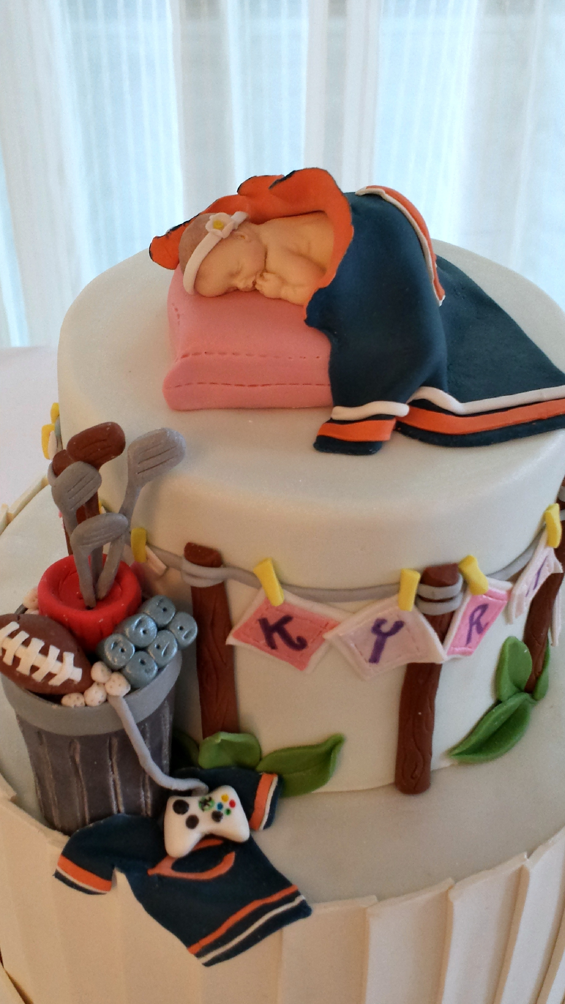 baby shower cake for the dad cakecentral com