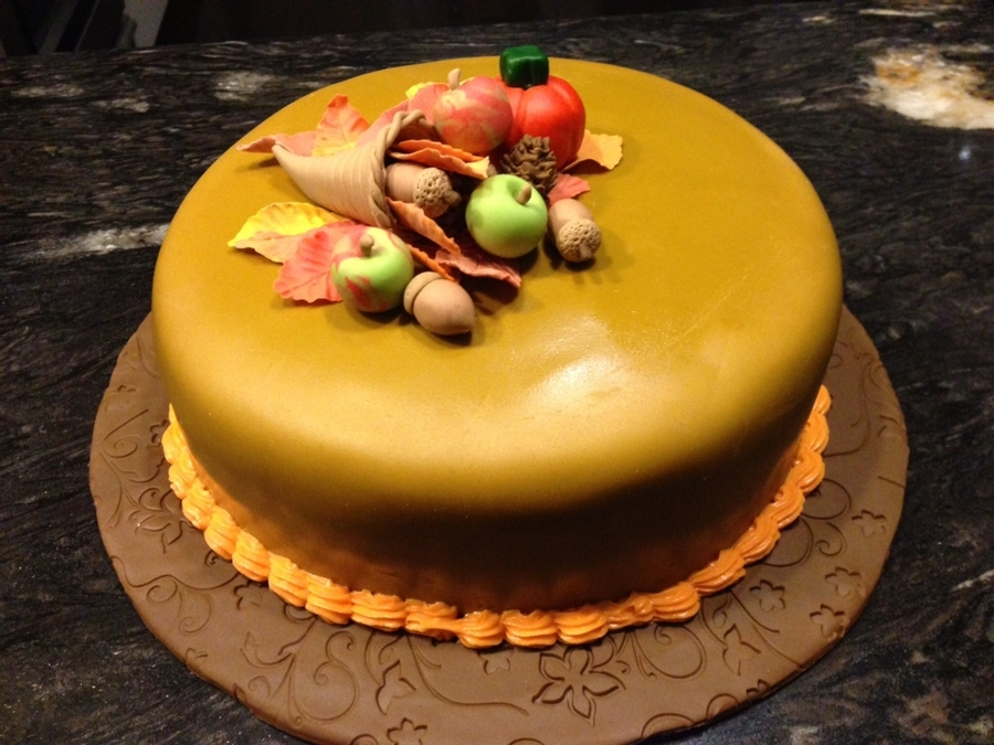 Happy Thanksgiving on Cake Central