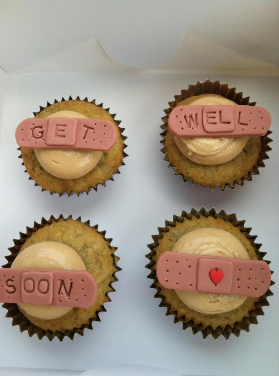 Get Well Soon Cupcakes on Cake Central