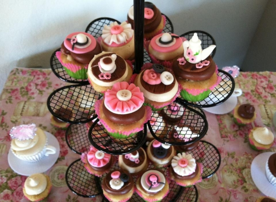 Tea Party Cupcakes on Cake Central