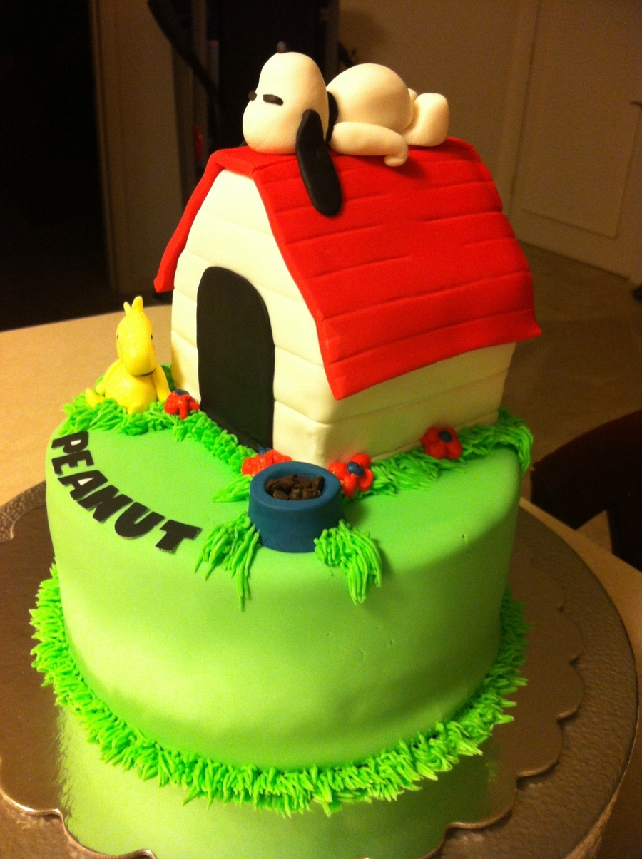 Snoopy Birthday Cake on Cake Central
