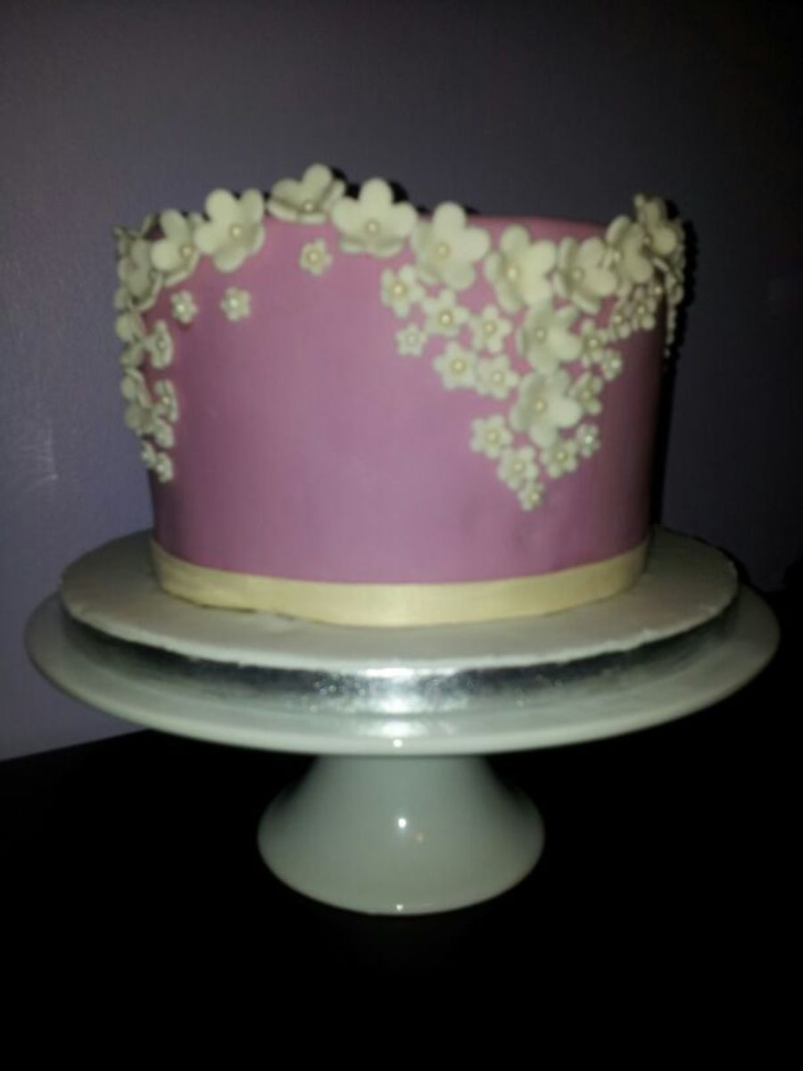 Blossom Sprinkles on Cake Central