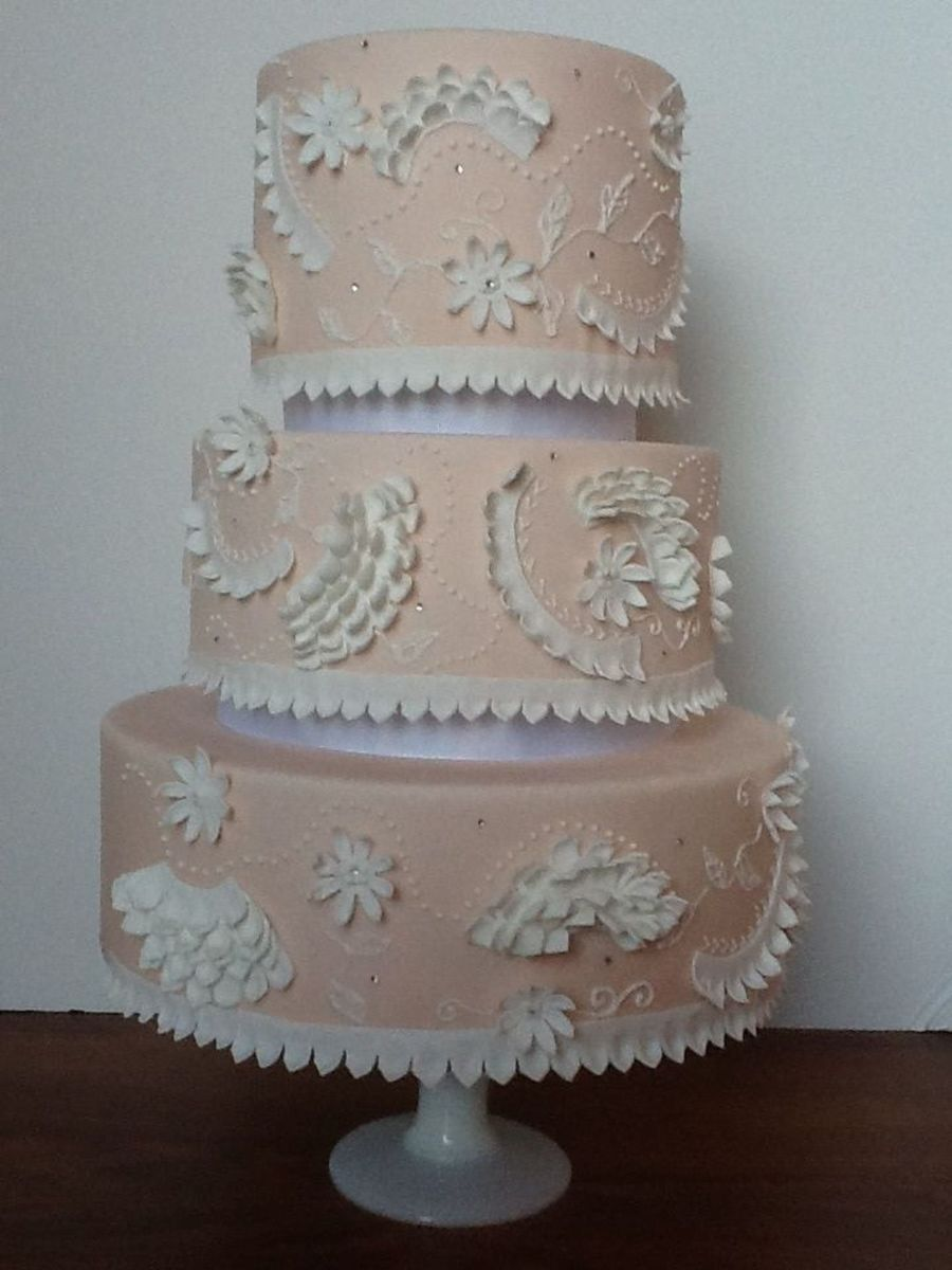 Blush And Ruffles on Cake Central