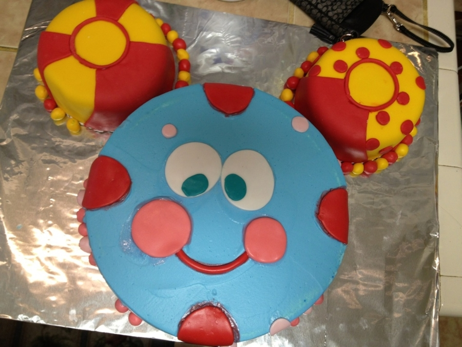 Toodles Mickey Mouse Clubhouse Cake