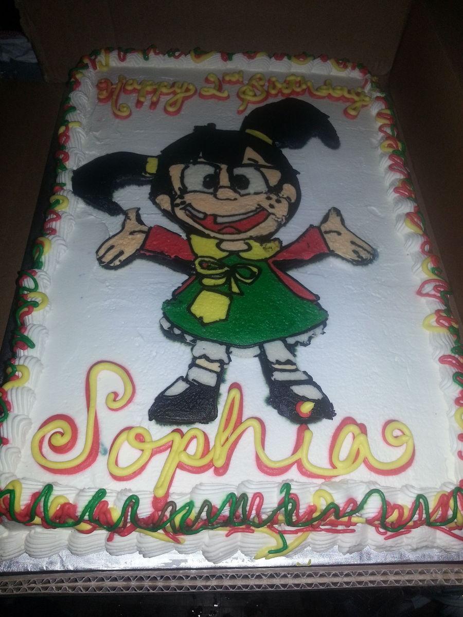 Chilindrina Birthday Cake Cakecentral