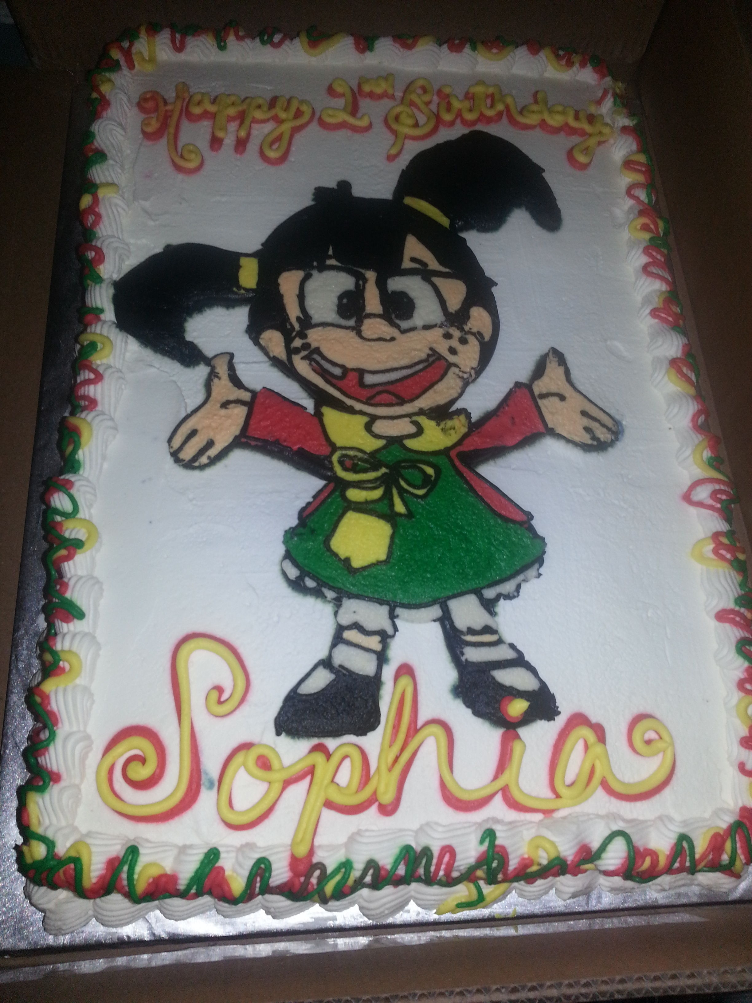 Chilindrina Cake