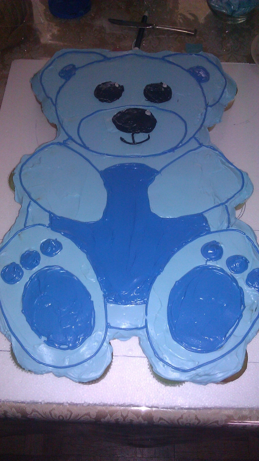 Teddy Bear Cupcake Cake - 2011 on Cake Central
