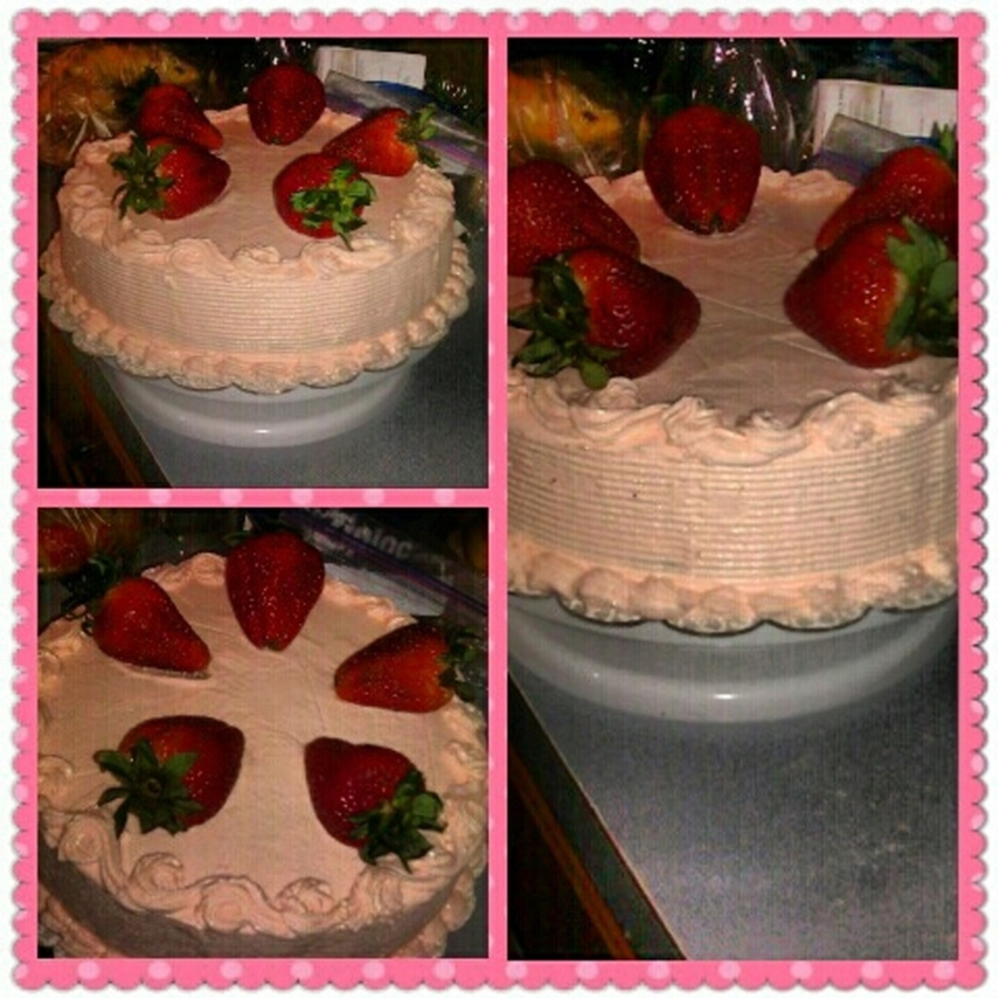 Chocolate Box Cake With Strawberry Filling on Cake Central