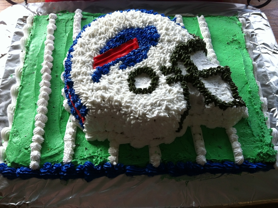 Buffalo Bills Birthday Cake on Cake Central