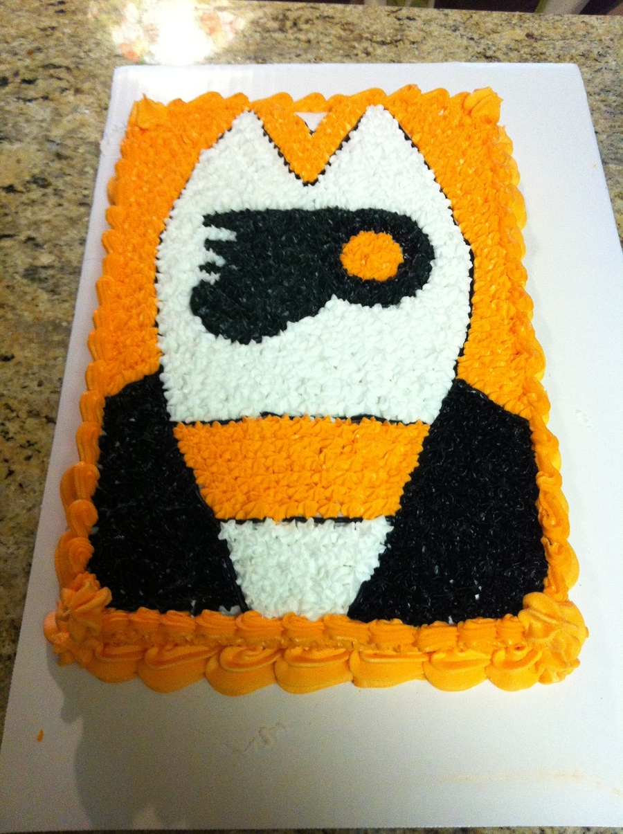 Flyers Cake on Cake Central