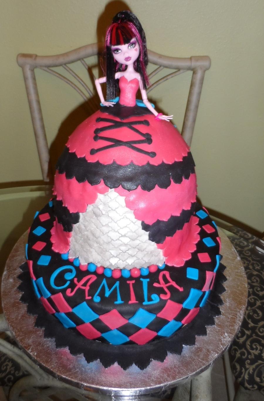 Monster High Doll Cake Cakecentral Com