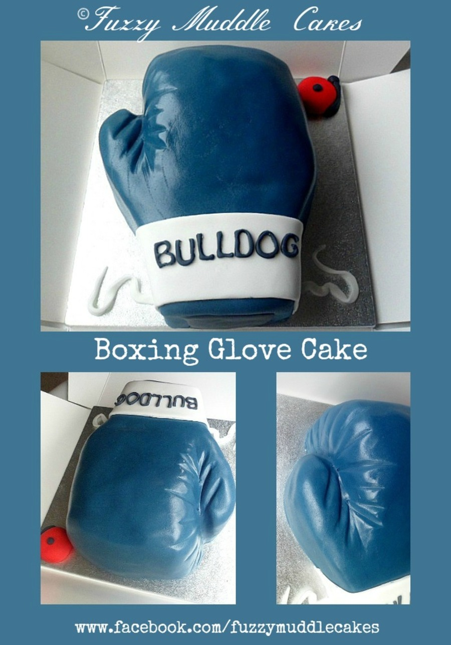 Boxing Glove Cake on Cake Central