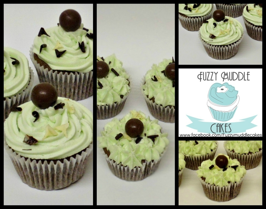 Chocolate Mint Cupcakes on Cake Central