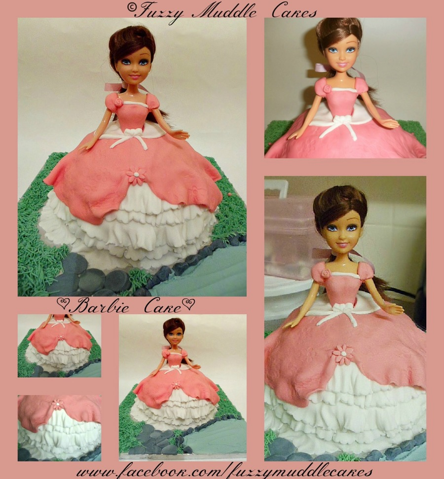 Barbie Style Cake on Cake Central
