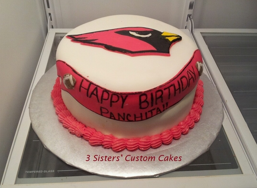 Cardinals Football Cake  on Cake Central
