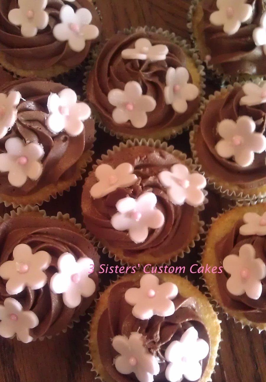 Baptism Cup Cakes on Cake Central