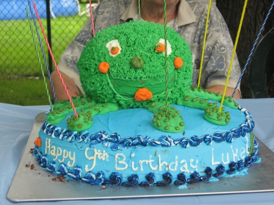 9 Legged Octopus on Cake Central