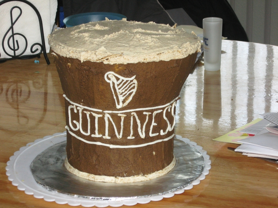 Guiness Cake on Cake Central