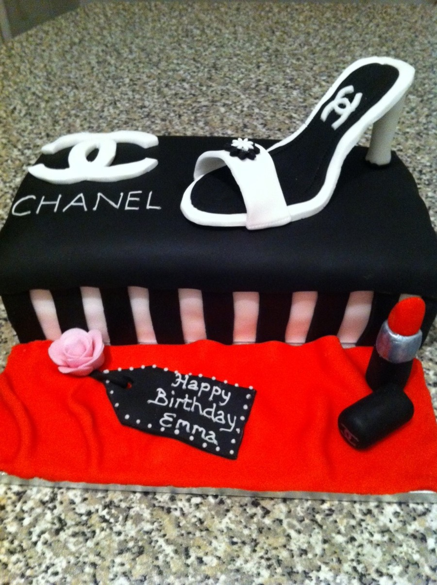 My First Attempt At A Shoe Box Cake Didnt Think Id Done Too Bad And The Lady Liked It Whos Birthday It Was on Cake Central