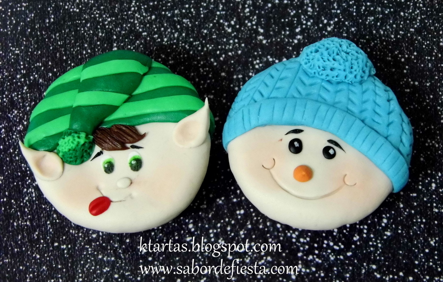 Cupcakes Navidad. on Cake Central