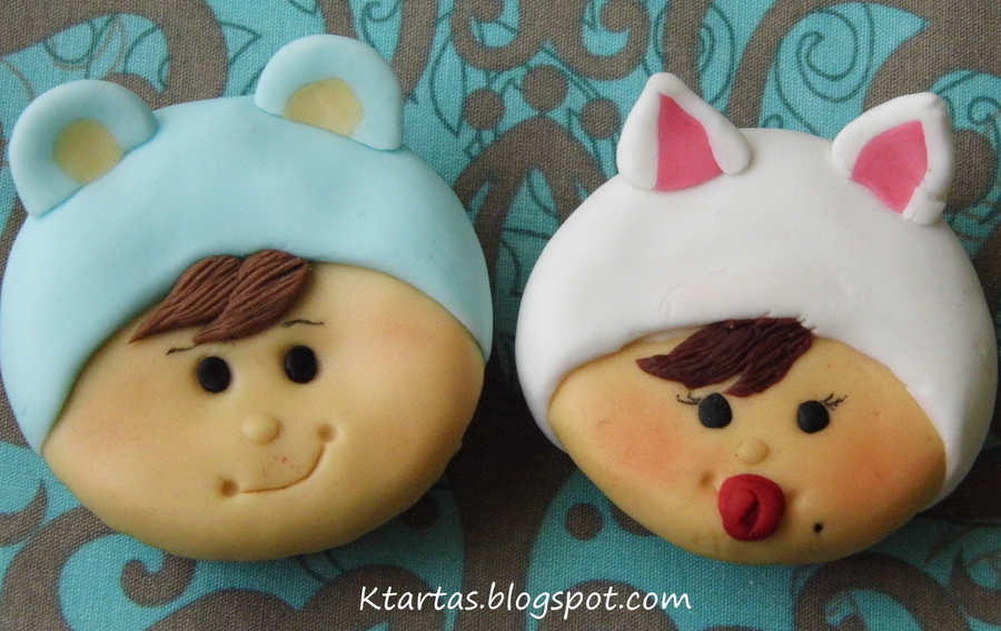 Cupcakes Bebes Disfrazados on Cake Central