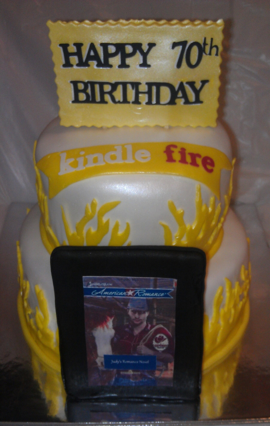 Kindle Fire on Cake Central