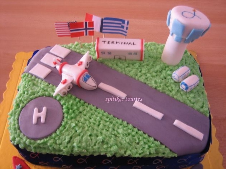 Elnizelos Airport Cake Cakecentral