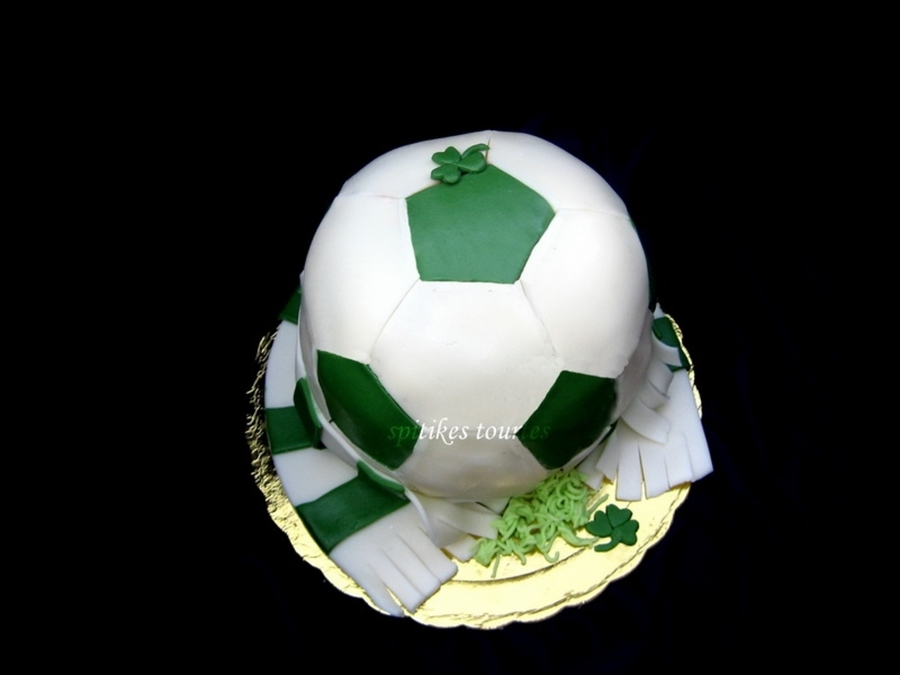 Football Ball Cake on Cake Central
