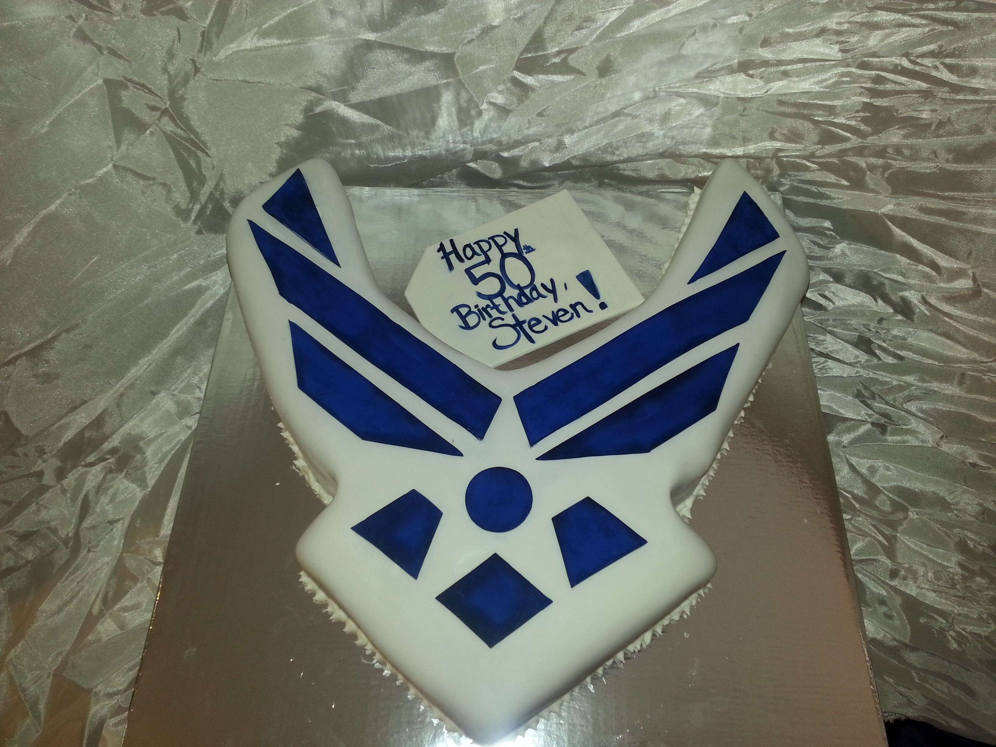 Us air force cake for Air force cakes decoration