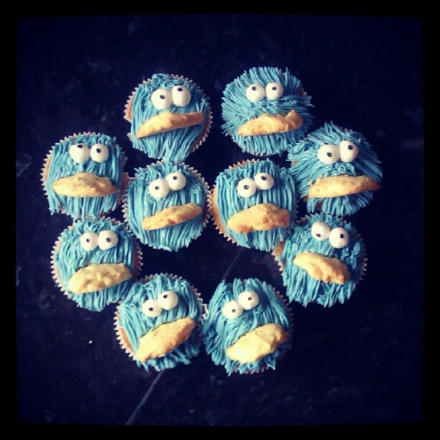Cookie Monsters!  on Cake Central