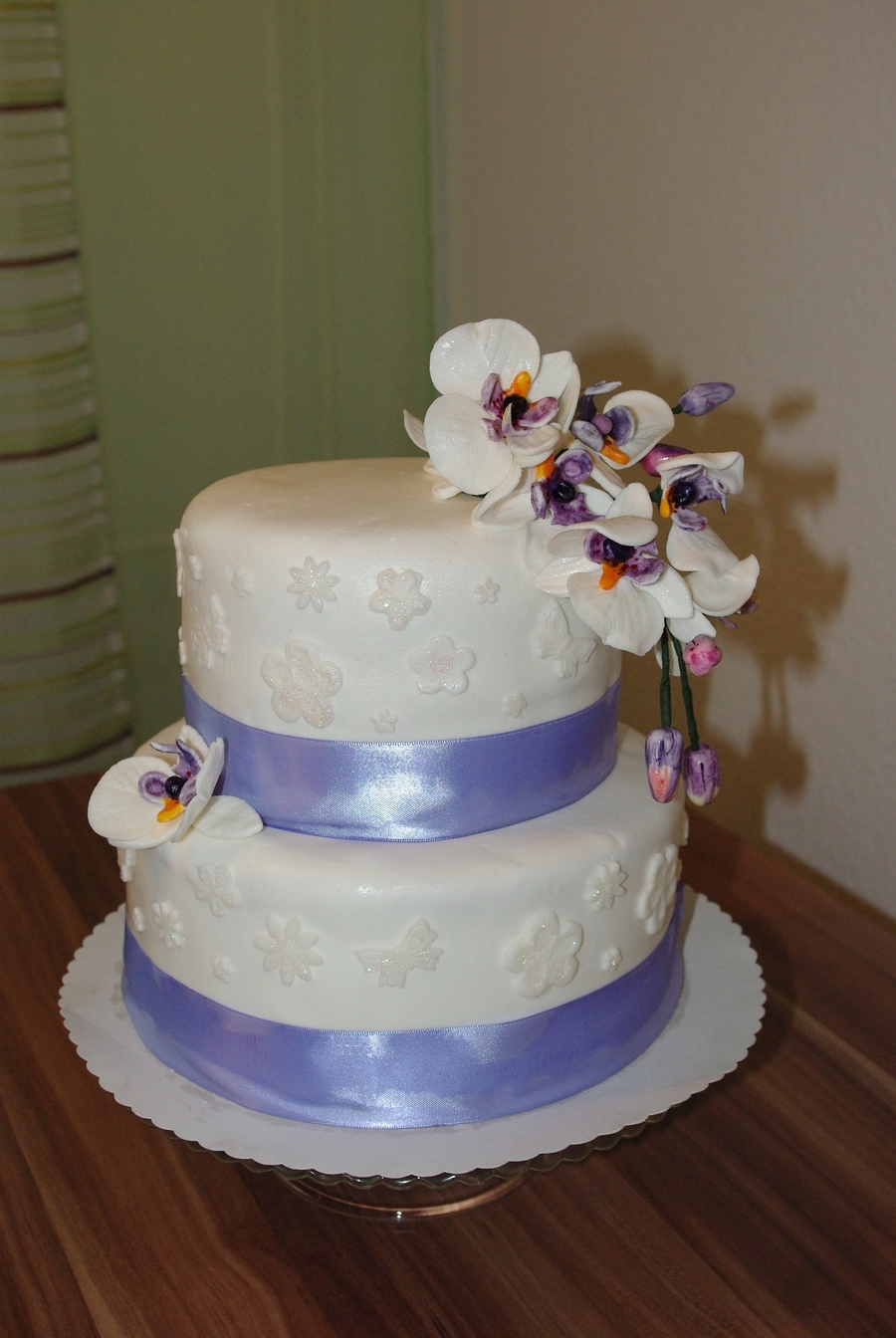 Orchidee Torte on Cake Central