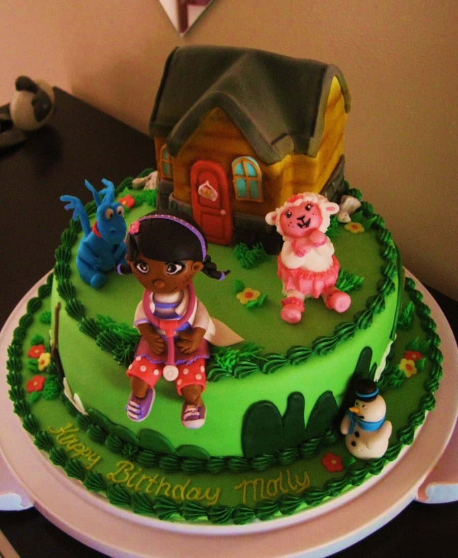 Doc Mcstuffins Birthday Cake Cakecentral