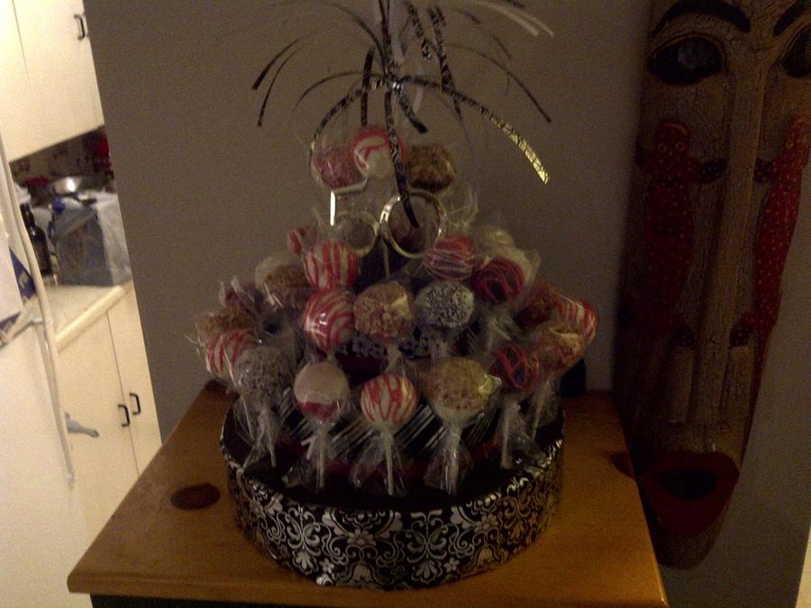 Astonishing Birthday Cake Pops Cakecentral Com Funny Birthday Cards Online Inifodamsfinfo
