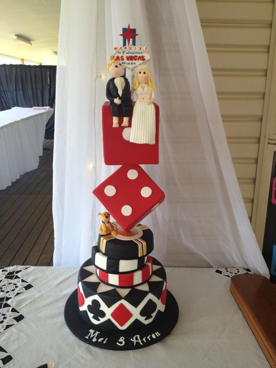 Las Vegas Wedding Cake on Cake Central