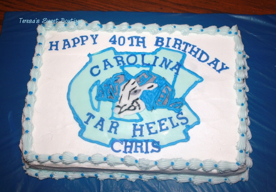 Tar Heels on Cake Central