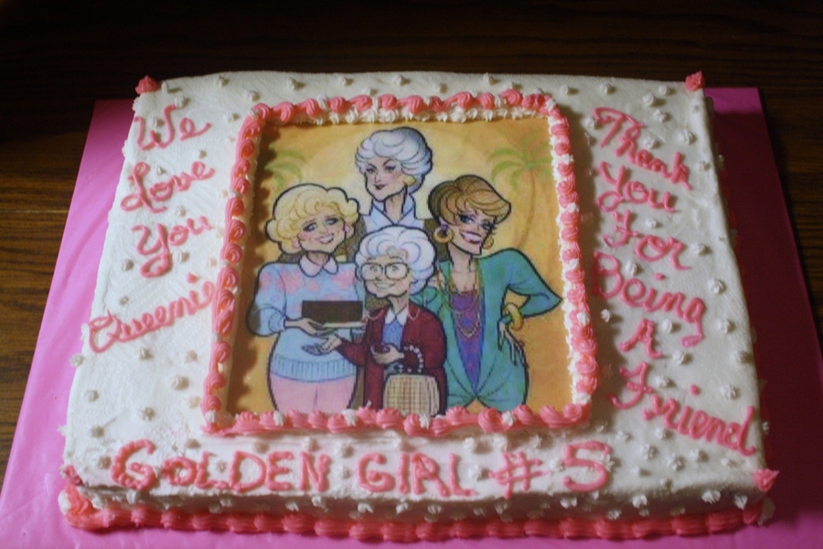 Golden Girls on Cake Central