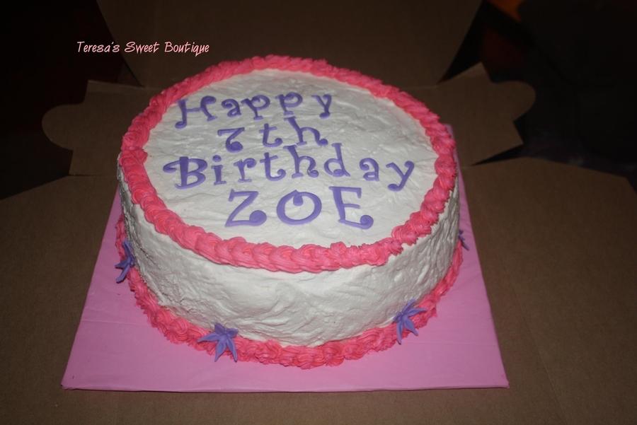 Zoe Gilham Cake Artist : Zoe - CakeCentral.com