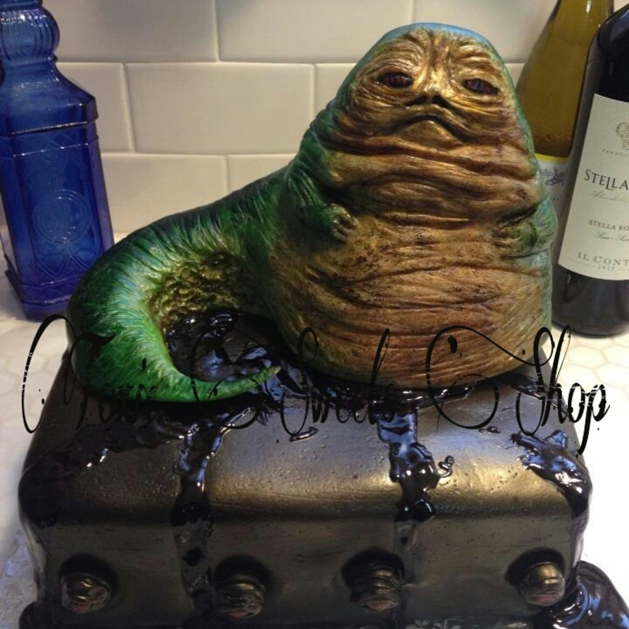 Jabba The Hut All Edible on Cake Central