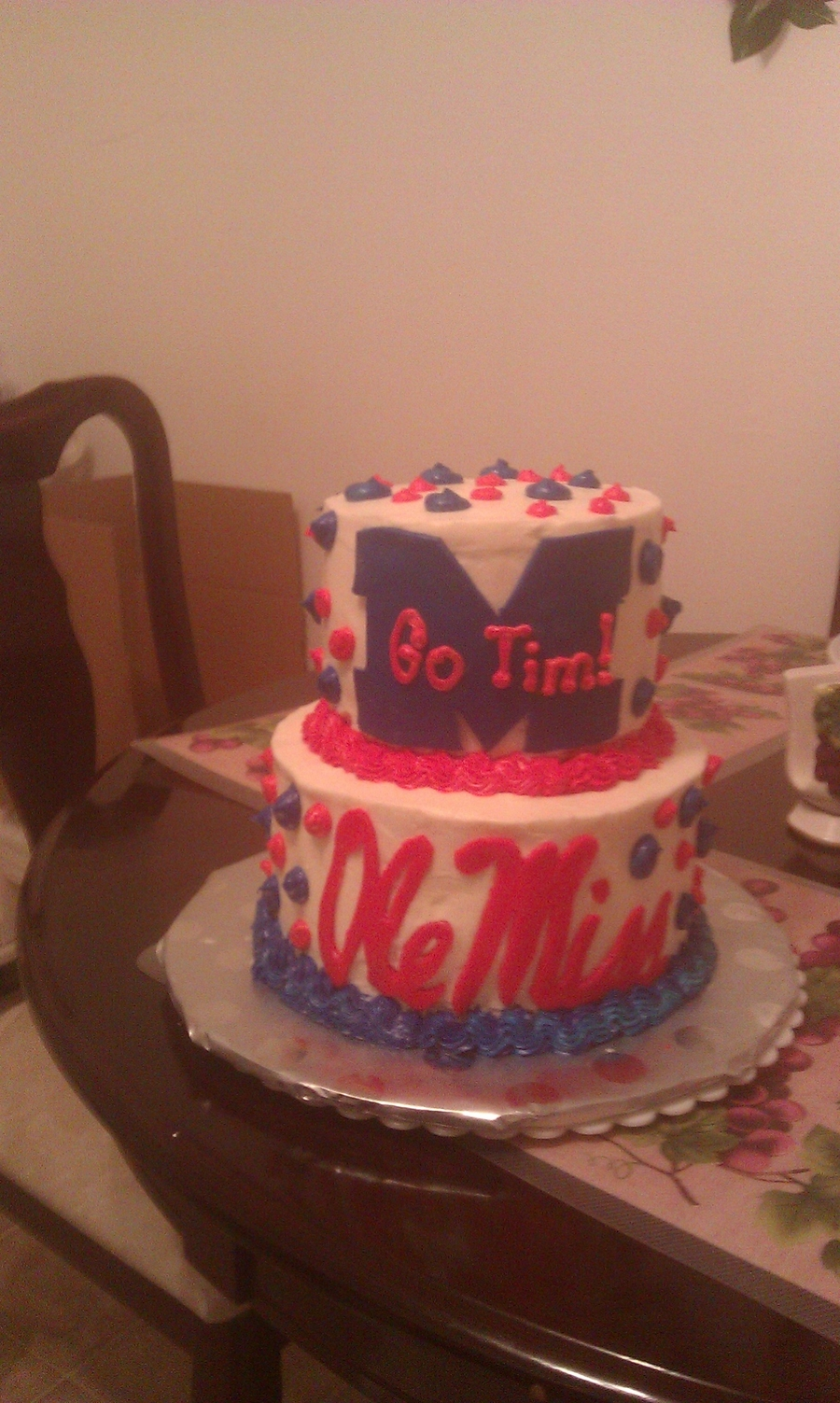 Ole Miss Fan on Cake Central