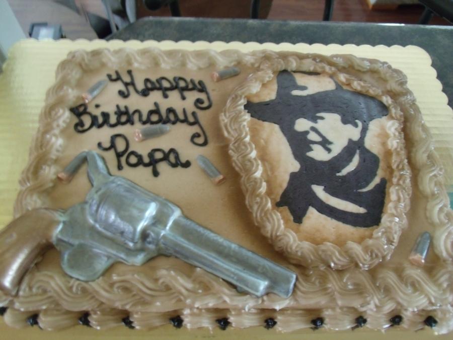 John Wayne Birthday Cake Cakecentral