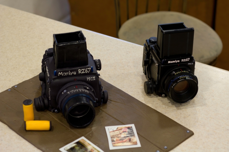 Mamiya Rz 67 Camera Cake - Cake Outside The Box on Cake Central