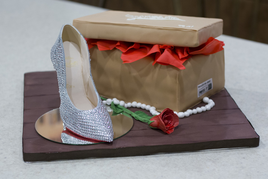 Christian Louboutin Shoe Cake on Cake Central