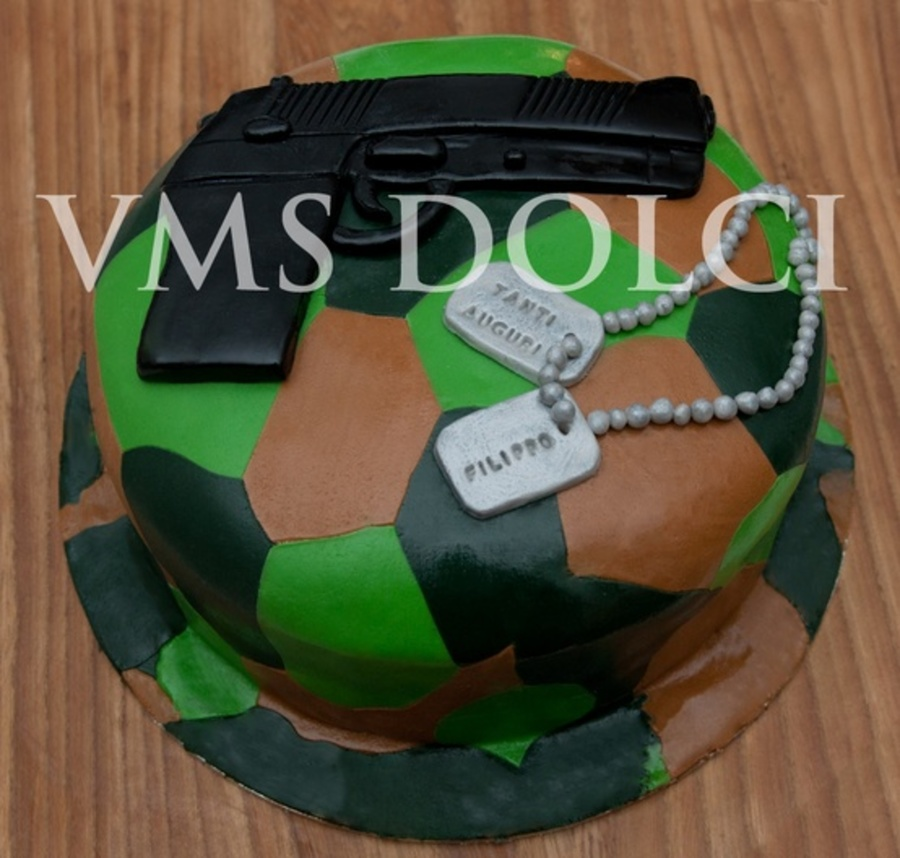 Military Cake  on Cake Central