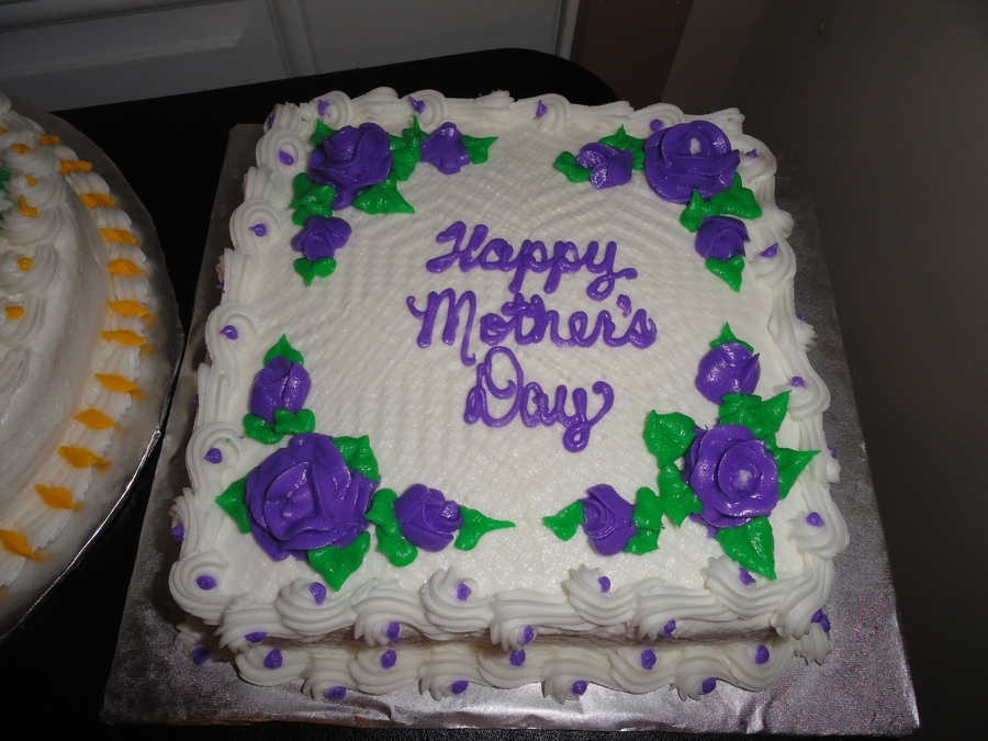 Mother's Day Cake on Cake Central