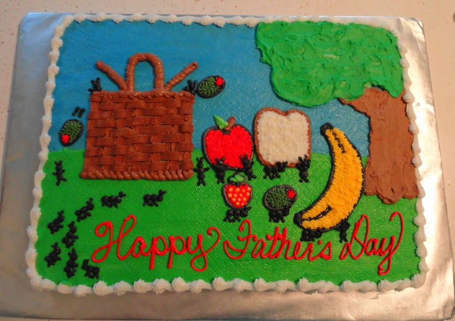 Father's Day Picnic on Cake Central