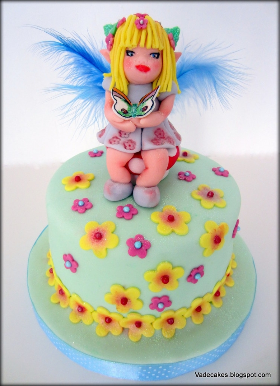 Fairy Cake  on Cake Central