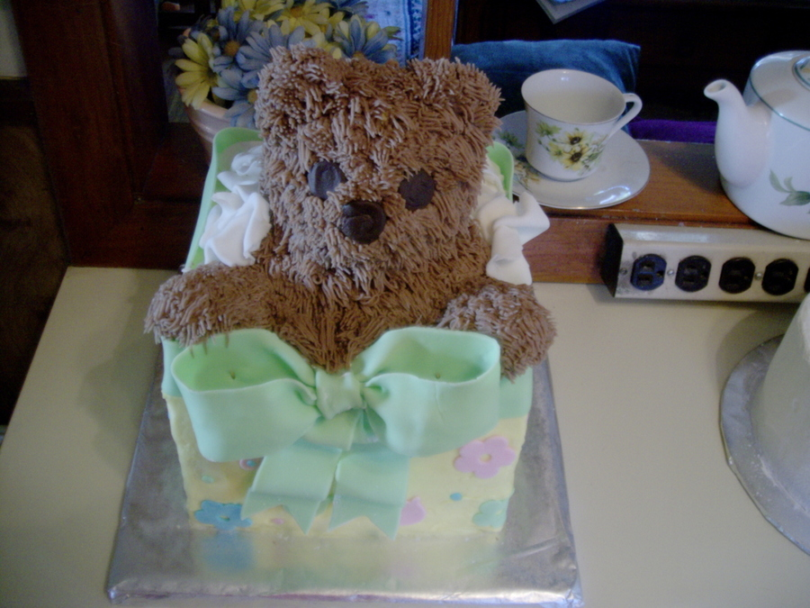 Teddy Bearpresent on Cake Central